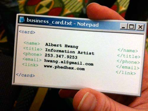 Можно ли быстро сделать креативную визитку самому?